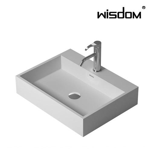 [WISDOM] 벽걸이세면기 WD-38343F1