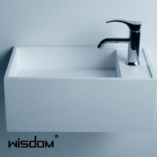 [WISDOM] 벽걸이세면기 WD-3877F2