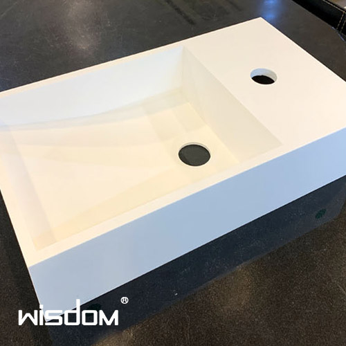 [WISDOM] 벽걸이세면기 WD-38596-F35