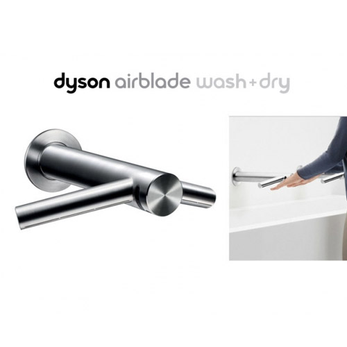[DYSON] 벽매립형 수전 겸용 핸드드라이어 WD06 / Wall type