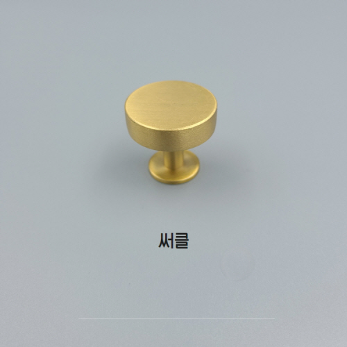 황동/골드 가구손잡이-서클 / TI-114