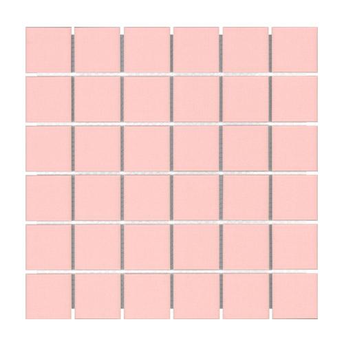 [US-REGNO] 모자이크타일 CSBD-BABY PINK규격:306X306수량:10매/0.936㎡재질:포세린