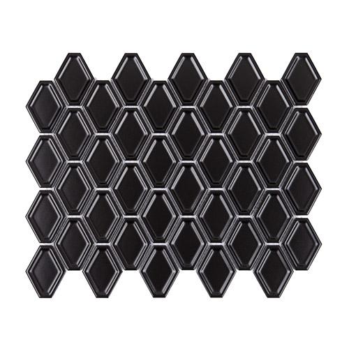 [US-REGNO] 모자이크타일 SNS-BLACK규격:325X250수량:12매/0.975㎡재질:포세린