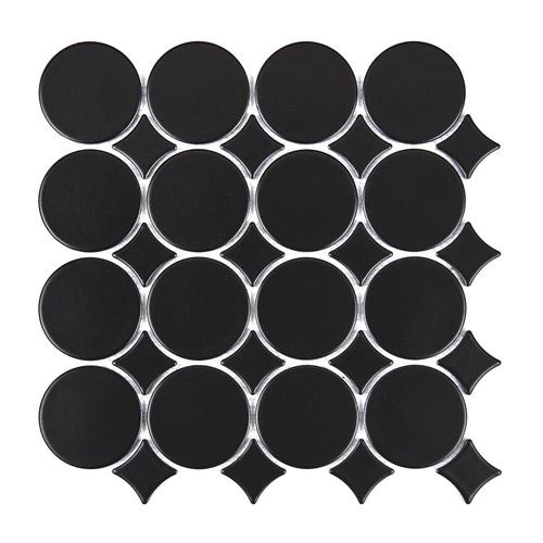 [US-REGNO] 모자이크타일 STTR-BLACK규격:325X250수량:12매/0.975㎡재질:포세린