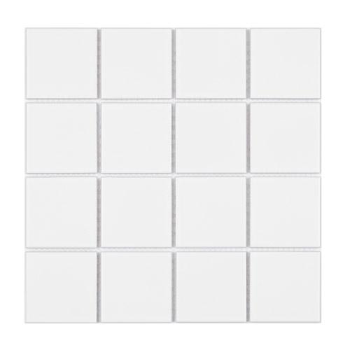 [US-REGNO] 모자이크타일 TF-WHITE규격:306X306수량:10매/0.94㎡재질:포세린