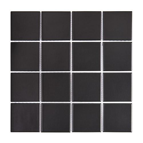 [US-REGNO] 모자이크타일 TF-BLACK규격:306X306수량:10매/0.94㎡재질:포세린