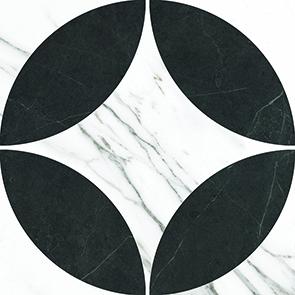 [US-REGNO] 패턴타일 PT-CARRARA STAR규격:200X200수량:25매/1㎡재질:포세린