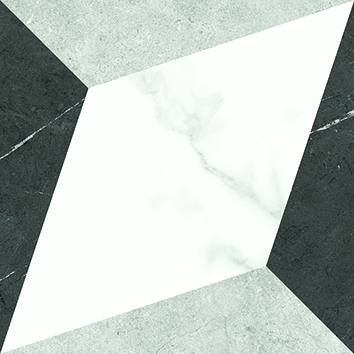 [US-REGNO] 패턴타일 PT-CARRARA DIAMOND규격:200X200수량:25매/1㎡재질:포세린