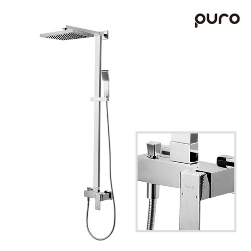 [PURO]레인샤워수전 소티레 VM33025C_크롬